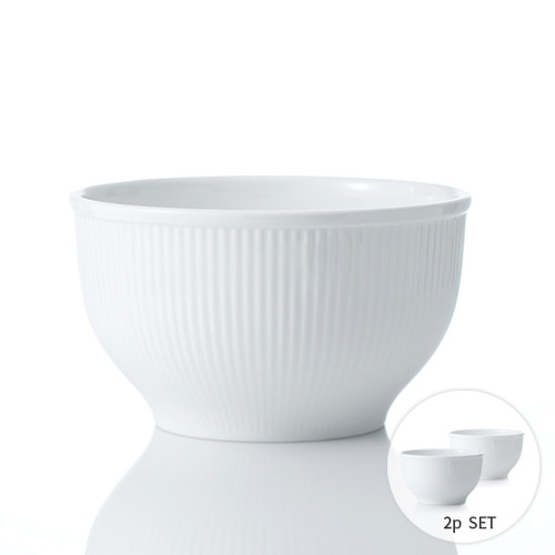 [화이트블룸] Multi Bowl Set_2p