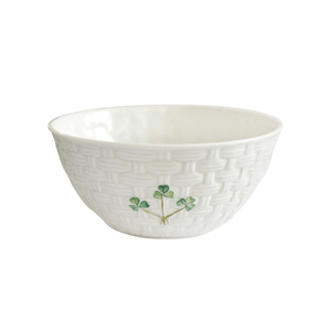 "[Belleek] Shamrock 6"" Bowl"