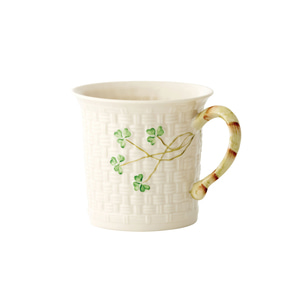 [Belleek] Shamrock Mug