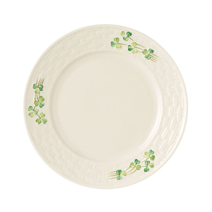[Belleek] Shamrock Salad Plate