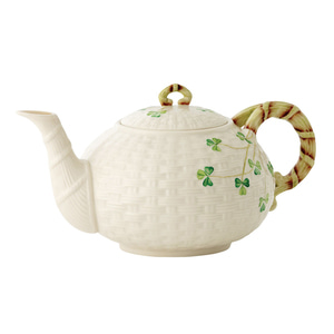 [Belleek] Shamrock Teapot