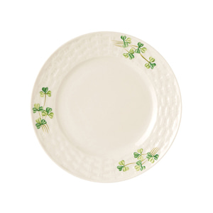 [Belleek] Shamrock Side Plate