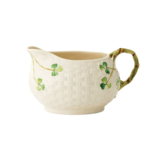 [Belleek] Shamrock Cream Jug